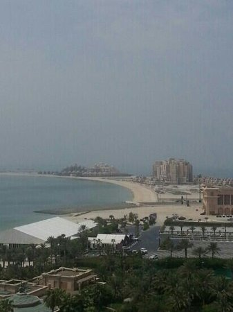 Atlantis, The Palm: our amazing view of the palm