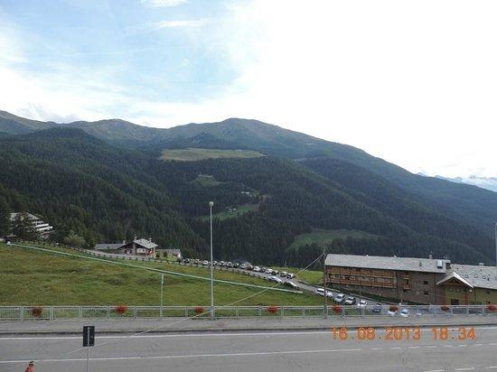 Hotel Chalet Des Alpes: Vue des Alpes