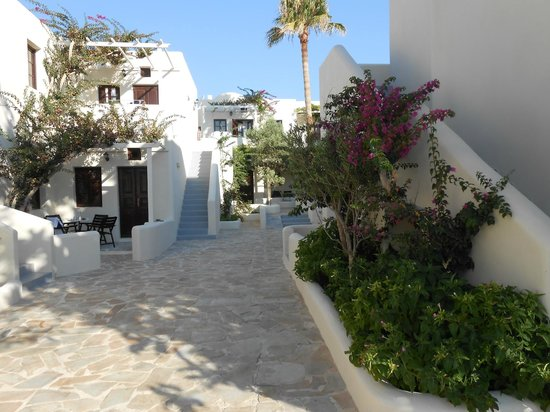Bellonias Villas: Beautifully kept grounds
