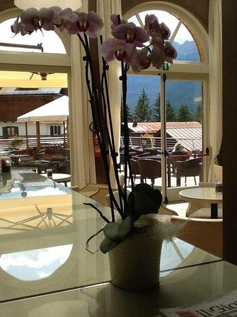 Grand Hotel Savoia: il giardino d'inverno