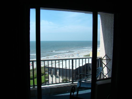 Carolina Winds: View from Partial Ocean front Room 806