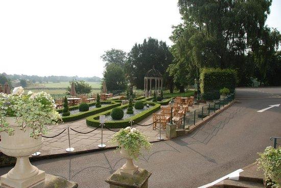 Weston Hall: Terrace