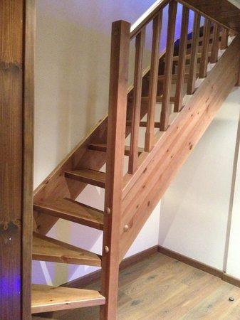 NubaHotel Vielha: Escaleras