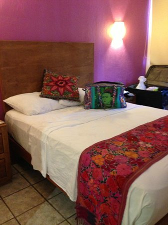 Catedral Vallarta Boutique Hotel: I loved my cosy little room.