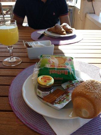 Crystal Sea: Una delle nostre colazioni..