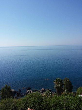 Crystal Sea: Veduta dall'ultimo piano..