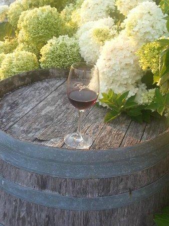 Raphael Winery: Barrel Tasting