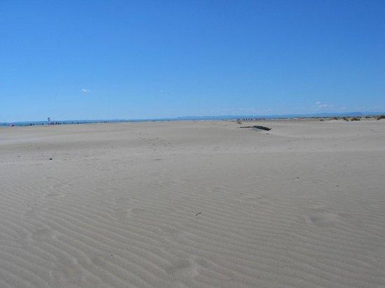 Domaine résidentiel de plein air Odalys l'Elysée : La plage de l'Espiguette