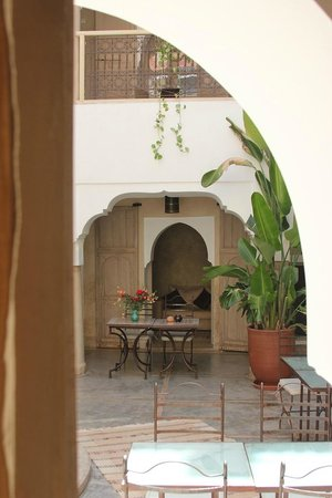 Riad Dar Ten: The Courtyard