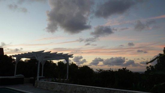 The Bird's Nest : Post sunset poolside