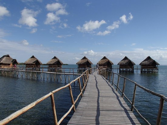 Flamingo Bay Water Lodge: perfection