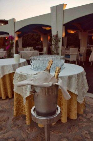 Hotel Principe di Fitalia Wellness & SPA: Preparation for the grand buffé