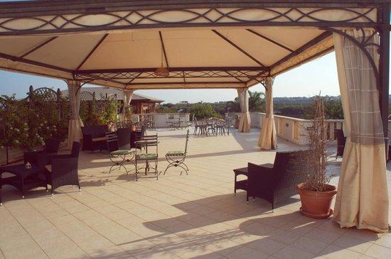 Hotel Principe di Fitalia Wellness & SPA: The roof of the hotel
