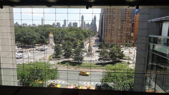 The Shops at Columbus Circle: Vista desde lo alto