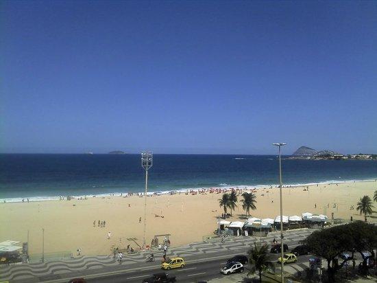 Vista do 6º andar do Olinda Rio Hotel