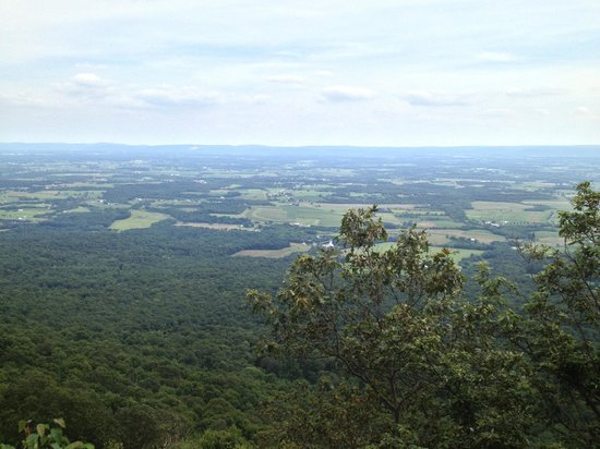 Newville, PA: View from the top of Flat Rock Trail