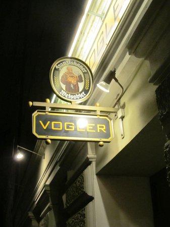 Jazzbar Vogler: Sign