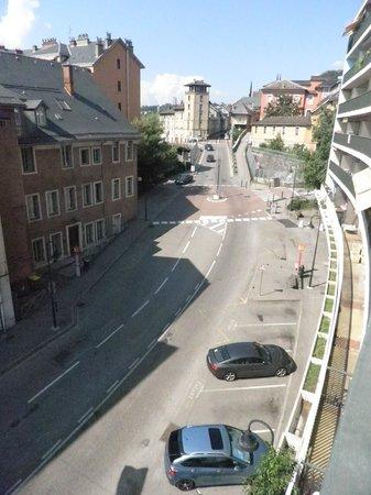 Le Cinq Hotel : balcon