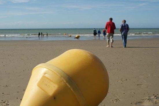 Plage de Calais : morze odpłynęło :)