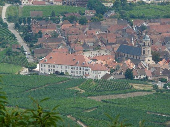 Val-Vignes : Aussicht von der Königsburg