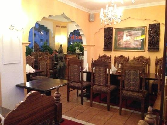 Dwaraka Indian Restaurant: from inside