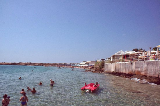 Hotel Principe di Fitalia Wellness & SPA: The private beach