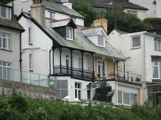 Pendower Guest House: View from road