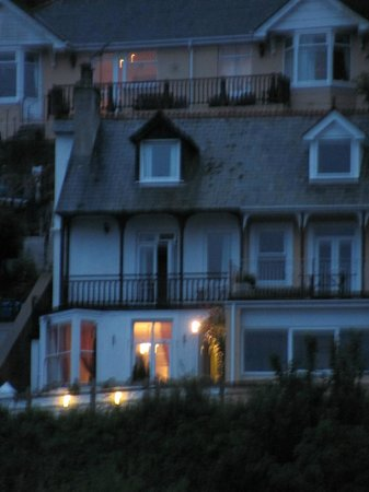 Pendower Guest House: View from beach