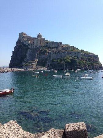 Ristorante La Terrazza: vista del castello