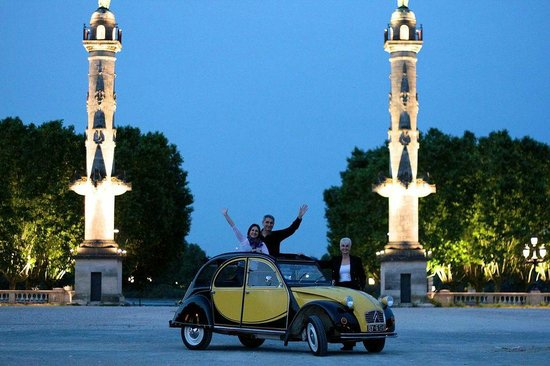 Bordeaux 2cv Tours