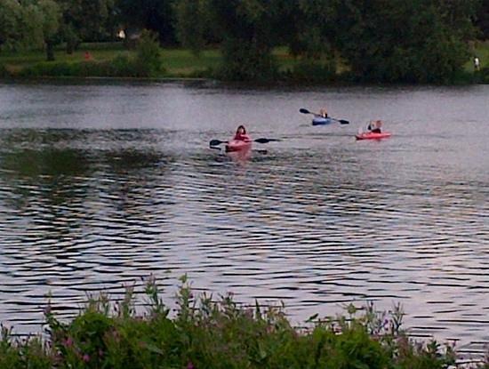 Bexleyheath, UK: il lago