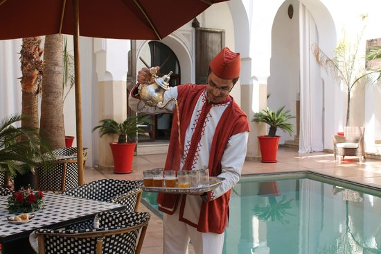 Riad Charai: Wonderful service