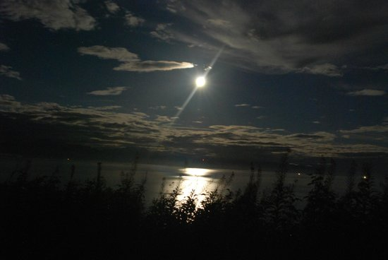 Ship Captain's View: MOONLIGHT FROM THE DECK