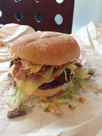 Build a Burger: yummm