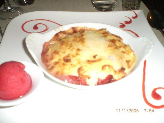 Ola Le Reve : gratin de fraises