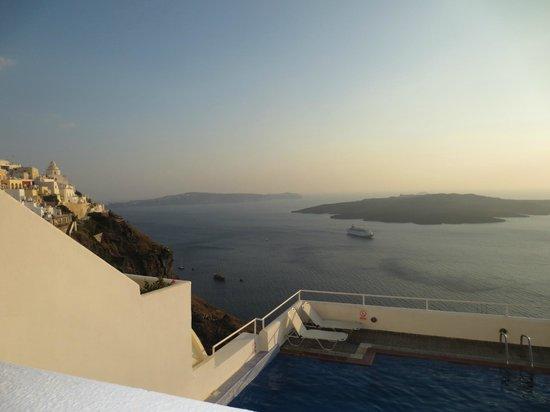 Loucas Hotel: View from balcany room #46