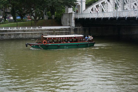 The Fullerton Hotel Singapore: A bumboat