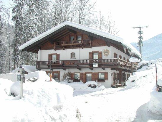 Alpenchalet Bianca : Hauptansicht Winter