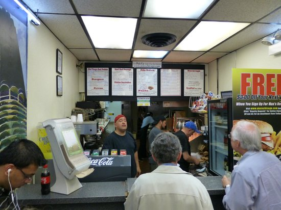 Max's Take Out: interior