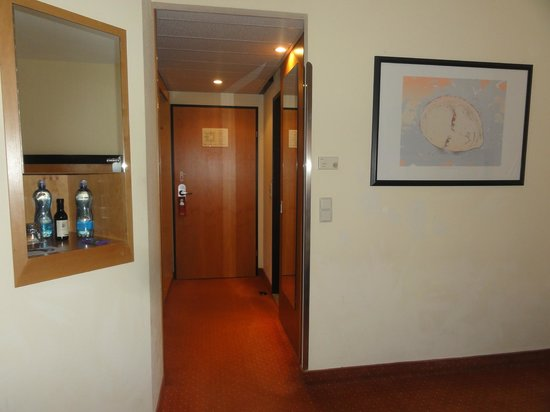 Hotel Don Giovanni: The room entrance