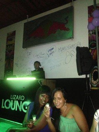 Lizard Lounge: zona vio