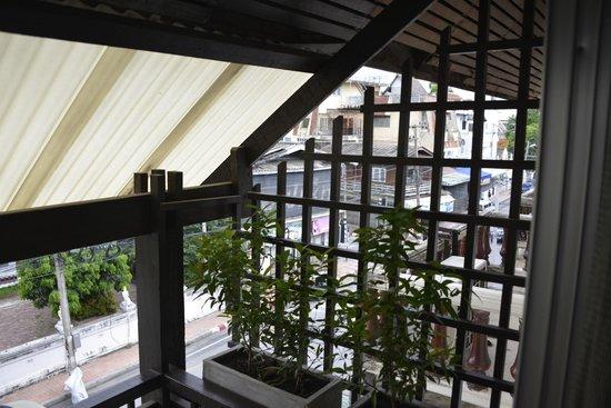 Pat's Klangviang: View from Room