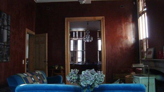 La Maison Zenasni: vue de la table petit déjeuner