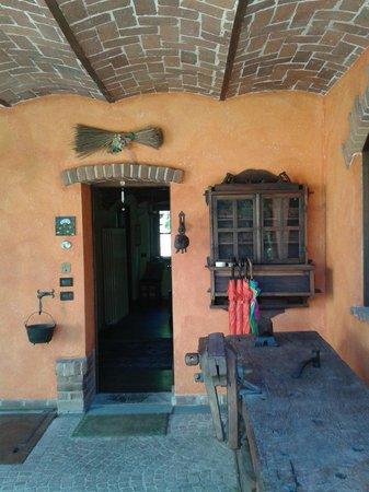 B&B La Casa Arancione: courtyard