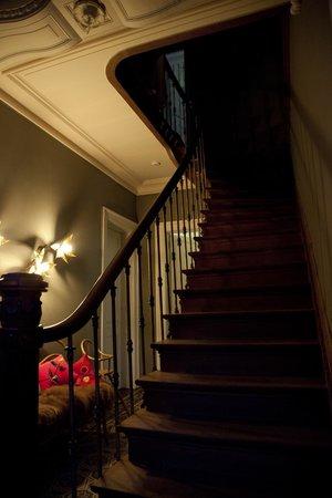 Villa Adélaïde Chimay : Foyer