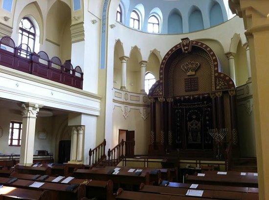Inside Kharkov Synagogue