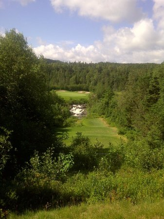 Port Blandford, Canada: 18th hole at Twin Rivers golf course