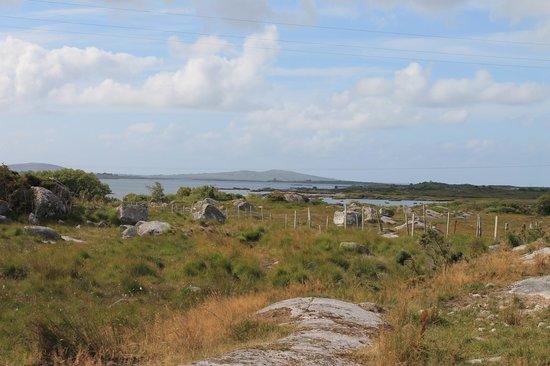 Rosmuck, Ireland: devant le cottage