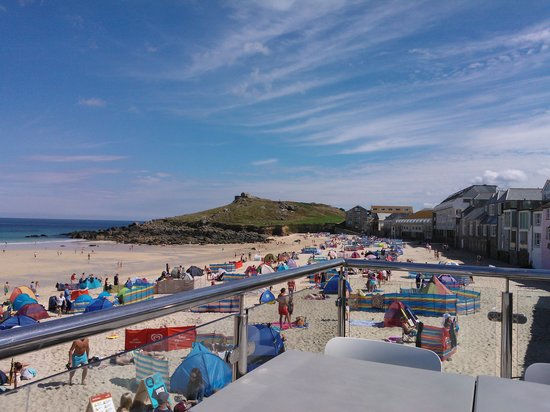 Headland House: From Porthmeor Cafe