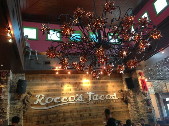 Rocco's Tacos & Tequila Bar - Fort Lauderdale: Fun decor inside Rocco's Tacos